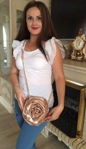 Micro Designer Bags. Rose Mini by Diana Ulanova