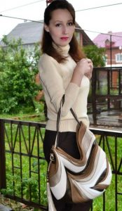 Over The Shoulder Designer Bags. Feather by Diana Ulanova. Buy on women-bags.com
