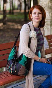 Designer Shoulder Bags. Totem by Diana Ulanova. Buy on women-bags.com