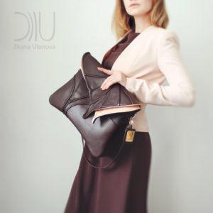 Shoulder Bags Designer. Leaf Maxi 2 by Diana Ulanova. Buy on women-bags.com