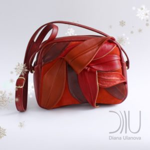 Designer Small Handbags. Bamboo_Mini Red 2 by Diana Ulanova. Buy on women-bags.com