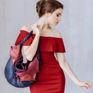 Designer Over Shoulder Bags. Orchid 1 by Diana Ulanova. Buy on women-bags.com