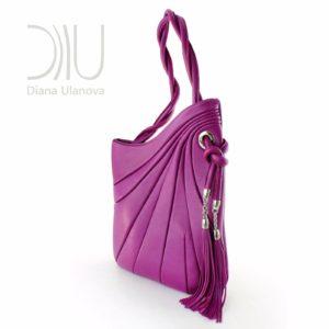 Designer Over Shoulder Bags. Sputnik Maxi 6 by Diana Ulanova. Buy on women-bags.com