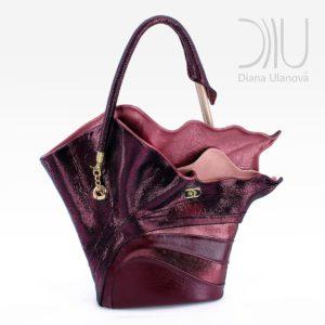 Handbags For Women Designer. Strelitzia Burgundy by Diana Ulanova. Buy on women-bags.com