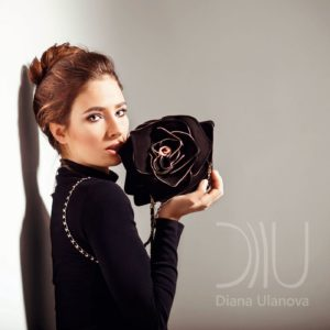 Designer Mini Handbags. Rose Mini 4 by Diana Ulanova. Buy on women-bags.com