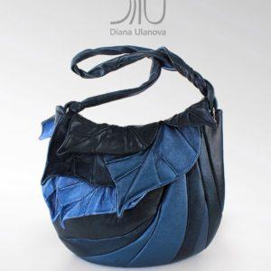 Over The Shoulder Designer Bags. Autumn Legend Blue Shimmer by Diana Ulanova. Buy on women-bags.com