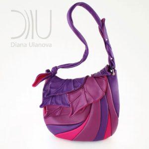 Designer Shoulder Bags. Autumn Legend Purple 1 by Diana Ulanova. Buy on women-bags.com