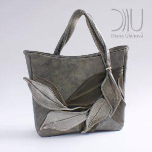Luxury Handbags. Bamboo Dark Grey by Diana Ulanova. Buy on women-bags.com