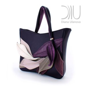 Ladies Designer Handbag. Bamboo Purple 2 by Diana Ulanova. Buy on women-bags.com