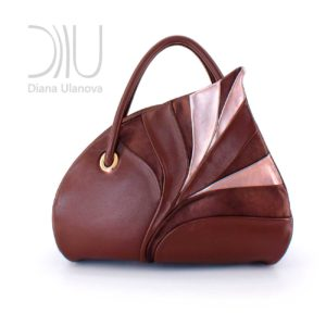 Womens Designer Bag. Birch Leaf Brown 1 by Diana Ulanova. Buy on women-bags.com