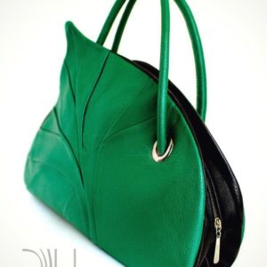 Designer Women Bags. Birch Leaf Grass Green 1 by Diana Ulanova. Buy on women-bags.com