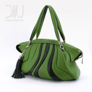 Travel Bag Designer. Cachalote Green by Diana Ulanova. Buy on women-bags.com