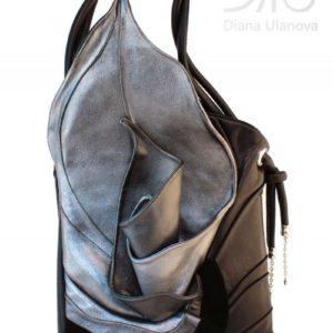 Designer Handbags For Women. Calla Silver/Black by Diana Ulanova. Buy on women-bags.com