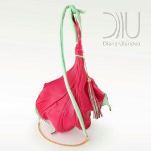 Over The Shoulder Bags Designer. Fleur De Lys - Pink 4 by Diana Ulanova. Buy on women-bags.com