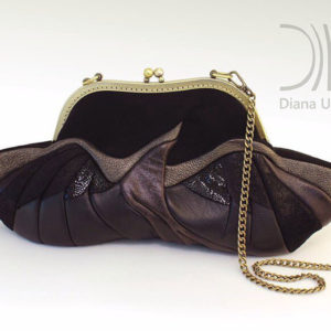 Clutch Bag Designer. Birdie Brown by Diana Ulanova. Buy on women-bags.com