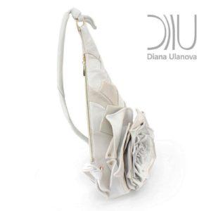 Shoulder Bags Designer. Rose Beige/ Brown2 by Diana Ulanova. Buy on women-bags.com