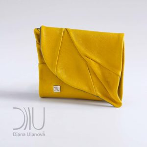 Designers Purses On Sale. Leaf Wallet Yellow by Diana Ulanova. Buy on women-bags.com