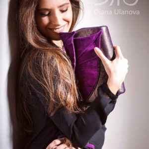 Luxury Clutch. Leaves Clutch by Diana Ulanova. Buy on women-bags.com