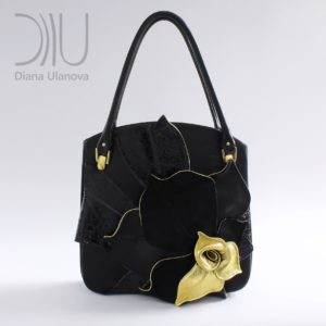 Designer Bags For Women. Magnolia Black by Diana Ulanova. Buy on women-bags.com
