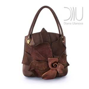 Womens Handbags Designer. Magnolia Brown by Diana Ulanova. Buy on women-bags.com