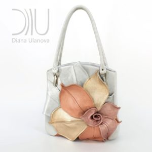 Female Designer Bags. Magnolia White 1 by Diana Ulanova. Buy on women-bags.com
