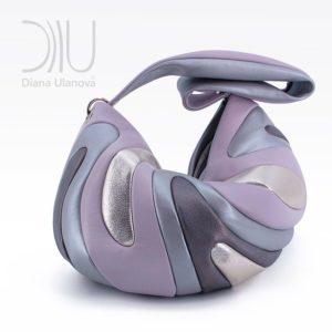 Shoulder Bags Designer. Medusa Purple by Diana Ulanova. Buy on women-bags.com