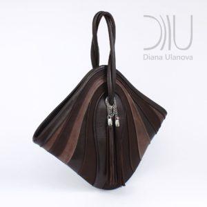 Designer Bags For Women. Mignon Brown/Black by Diana Ulanova. Buy on women-bags.com