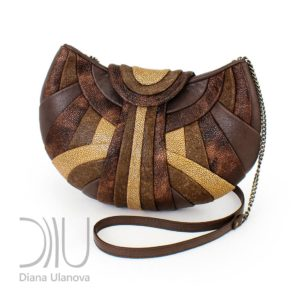 Designer Shoulder Bags For Women. Modern Brown 1 by Diana Ulanova. Buy on women-bags.com