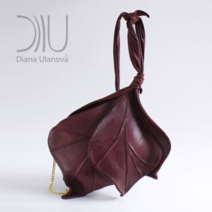 Designer Shoulder Bags On Sale. Burgeon Burgundy by Diana Ulanova. Buy on women-bags.com