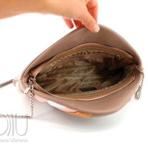 Womens Designer Clutch Bag. Feather Clutch Beige by Diana Ulanova. Buy on women-bags.com