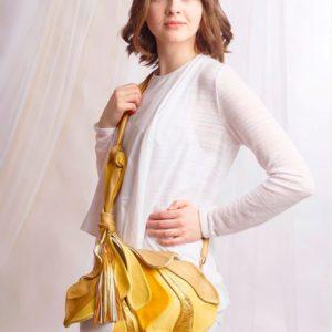 Designer Over Shoulder Bags. Fleur De Lys 2 by Diana Ulanova. Buy on women-bags.com