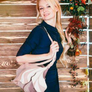Shoulder Designer Bags. Fleur De Lys 1 by Diana Ulanova. Buy on women-bags.com