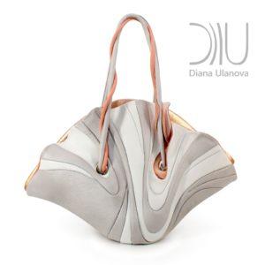 Female Designer Bags. Ginkgo White by Diana Ulanova. Buy on women-bags.com