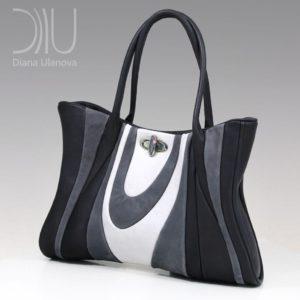 Female Designer Handbags. Russ Black/White by Diana Ulanova. Buy on women-bags.com