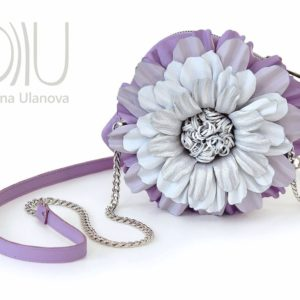 Mini Luxury Bags. Chamomile Violet by Diana Ulanova. Buy on women-bags.com