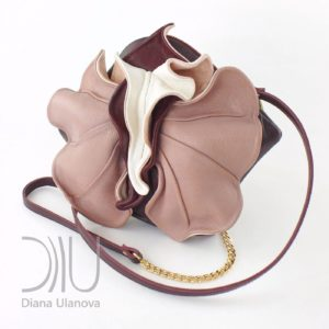 Mini Designer Bags. Orchid Mini Brown/Beige by Diana Ulanova. Buy on women-bags.com
