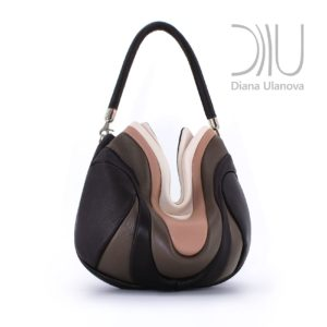Designer Over The Shoulder Bags. Prana Brown/Beige by Diana Ulanova. Buy on women-bags.com