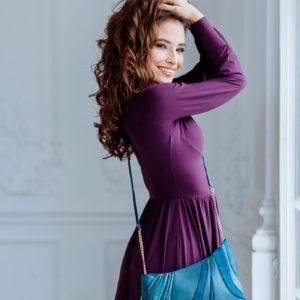 Designer Over Shoulder Bags. Sputnik 1 by Diana Ulanova. Buy on women-bags.com