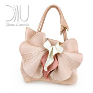 Women S Handbags Designer. Orchid Classic Beige Pink by Diana Ulanova. Buy on women-bags.com
