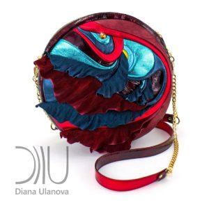 Designer Mini Bags. Fugu Mini Red 2 by Diana Ulanova. Buy on women-bags.com