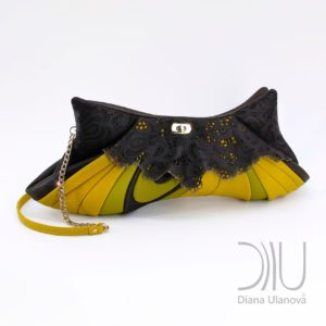 Best Designer Clutch Bags. Vintage Yellow by Diana Ulanova. Buy on women-bags.com