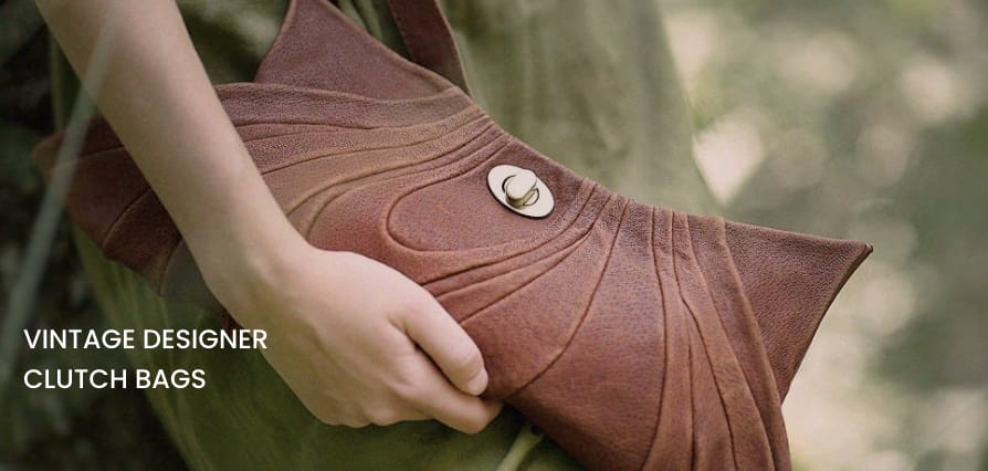 Leather Clutch Bags by Diana Ulanova